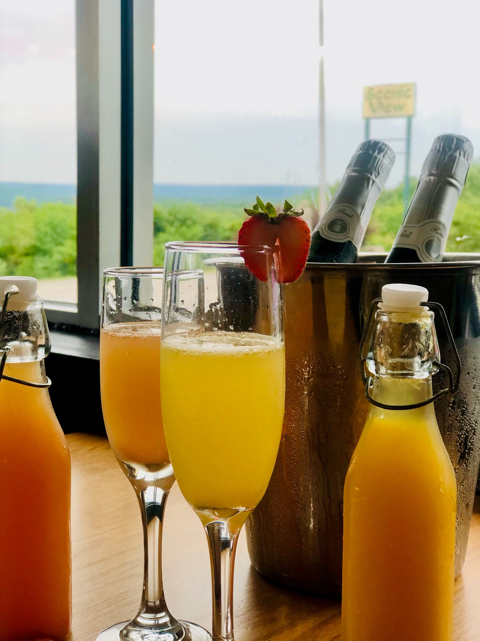 Mimosas - Scenic View Restaurant in Bloomington, Indiana